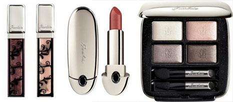 Guerlain Holiday Glosses, Holiday Rouge G, Ombre Eclat 4 shades 407