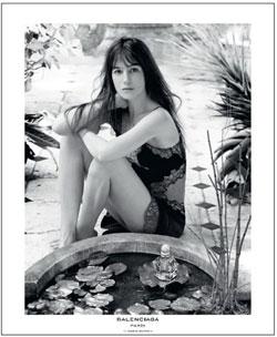 Charlotte Gainsbourg pour Balenciaga