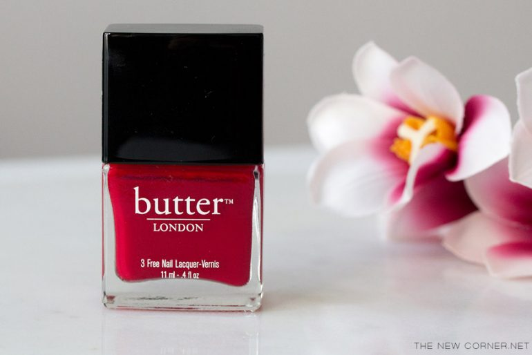 Butter London - Come To Bed Red