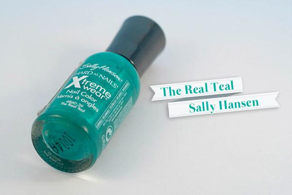 Sally Hansen - The Real Teal