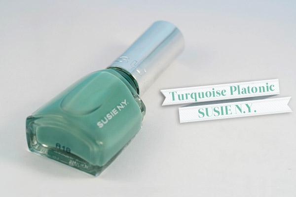 Susie NY - Turquoise Platonic