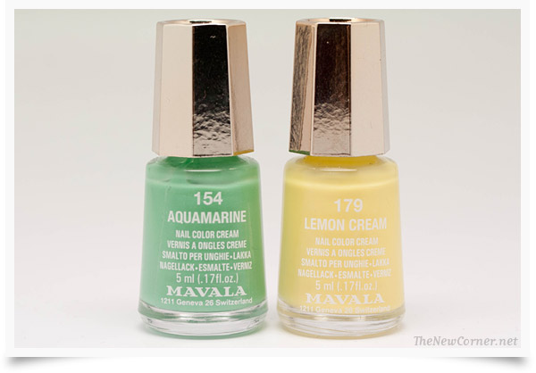 Mavala - Aquamarine - Lemon Cream