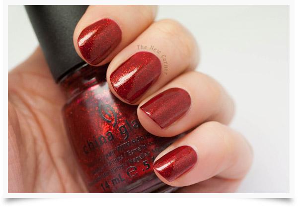 China Glaze - Ruby Pumps