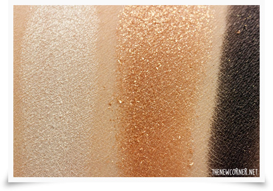 Dior - Night Golds Palette - Swatches