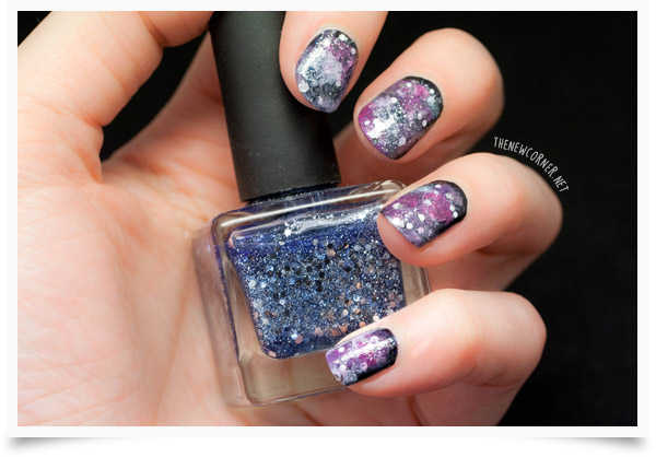 Sunday Nail Battle - Galaxy Nails