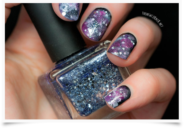 The Sunday Nail Battle - Galaxy Nails