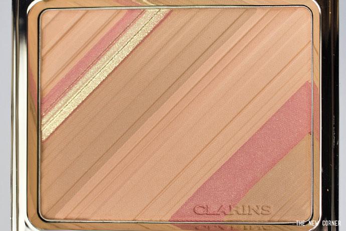 poudre teint & blush selon Clarins