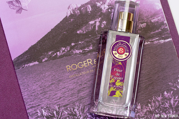 l eau de parfum fleur de figuier roger gallet the new corner. Black Bedroom Furniture Sets. Home Design Ideas