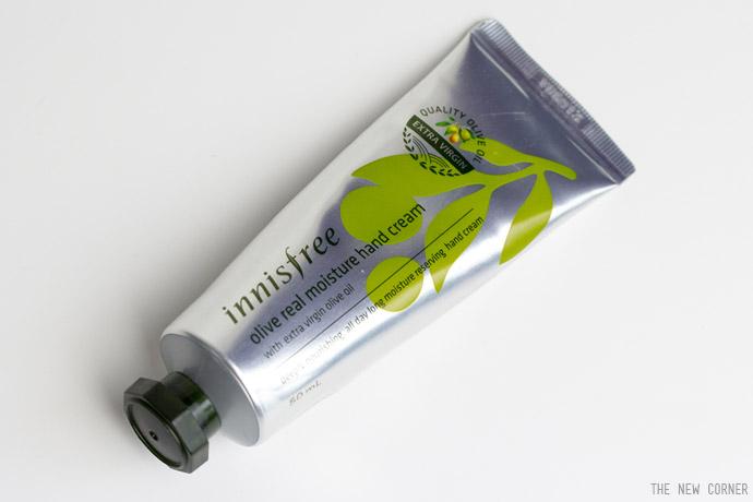 innisfree – Olive real moisture hand cream