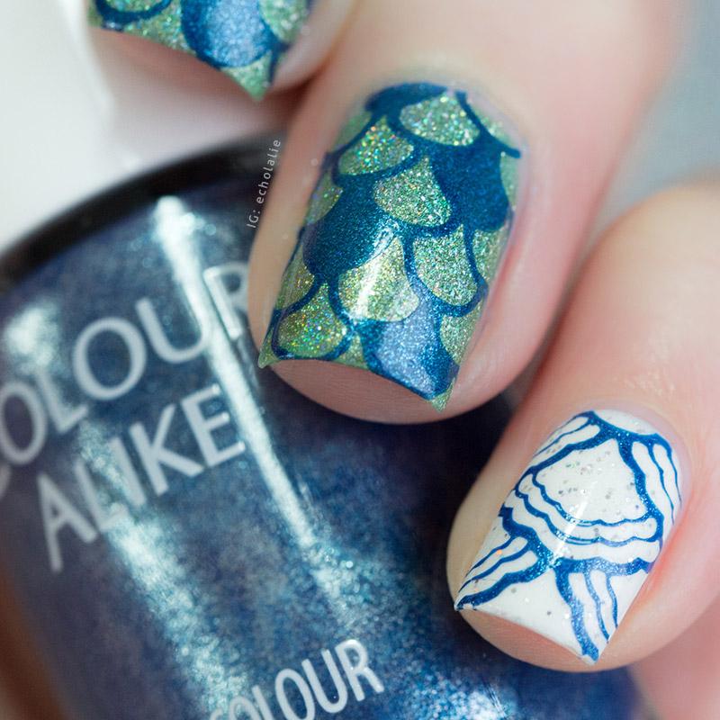Colour Alike - Sailor Blue Stamp