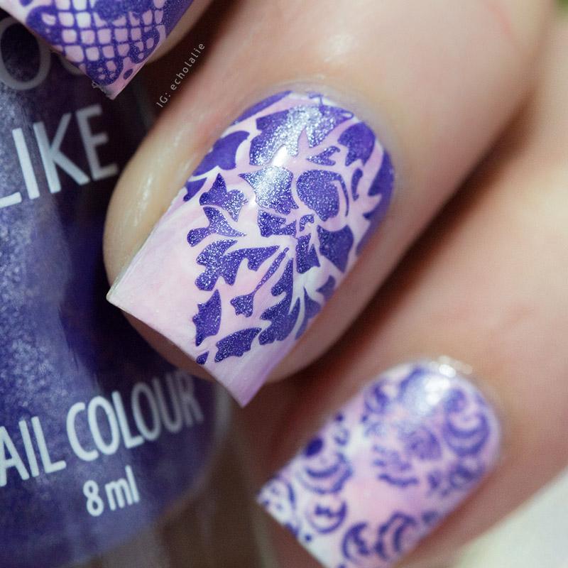 Colour Alike - Ultra Violet Stamp