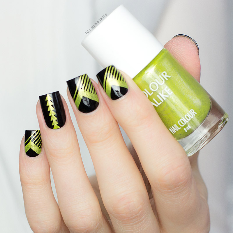Colour Alike - Lime Punch Stamp