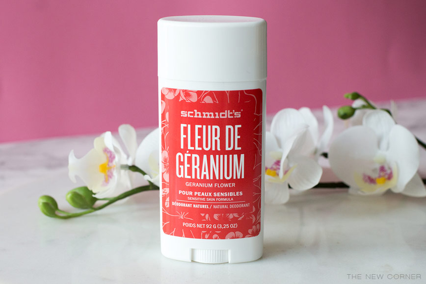Déodorant Stick Geranium Schmidt's
